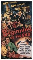 BEGINNING OF THE END movie poster