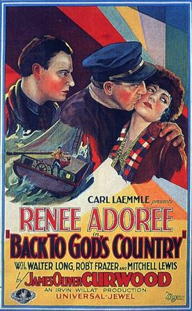 Back to Gods Country 1927 3 movie poster