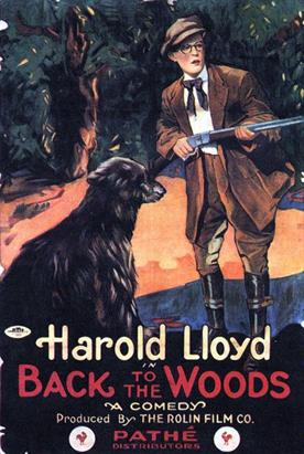 Back to the Woods 1918 movie poster