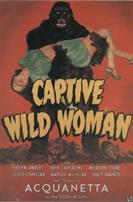 CAPTIVE WILD WOMAN 2 movie poster