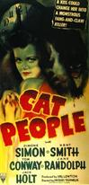 CAT PEOPLE movie poster