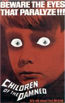 CHILDREN OF THE DAMNED movie poster