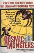 COSMIC MONSTERS movie poster