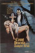 COUNT DRACULA AND HIS VAMPIRE BRIDE movie poster