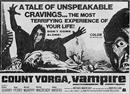 COUNT YORGA VAMPIRE movie poster
