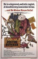 DOCTOR BUTCHER M D ZOMBIE HOLOCAUST movie poster