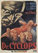 DR CYCLOPS movie poster