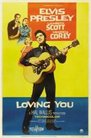 Elvis Presley Loving You Poster