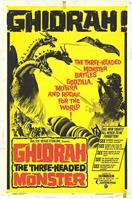 GHIDRAH THE THREE HEADED MONSTER GODZILLA movie poster