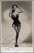 GYPSY ROSE LEE Autograph