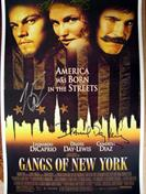 Gangs of New York cast Autograph