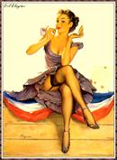 Gil Elvgren Pin-Up Art 114