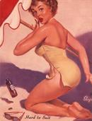 Gil Elvgren Pin-Up Art 125