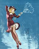 Gil Elvgren Pin-Up Art 159