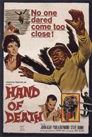 HAND OF DEATH 1962 movie poster