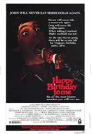 HAPPY BIRTHDAY TO ME movie poster