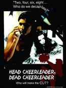 HEAD CHEERLEADER DEAD CHEERLEADER movie poster