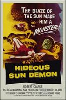 HIDEOUS SUN DEMON movie poster