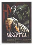 HORROR OF DRACULA FRENCH movie poster