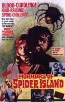 HORRORS OF SPIDER ISLAND 2 movie poster