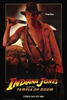 INDIANA JONES AND THE TEMPLE OF DOOM TEASER movie poster