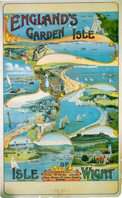 Isle of Wight travel posters