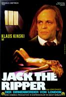 JACK THE RIPPER KINSKI movie poster