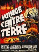 JOURNEY TO THE CENTRE OF THE EARTH FRENCH movie poster