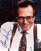 LARRY KING Autograph