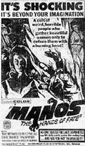 MANOS THE HANDS OF FATE movie poster