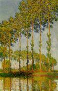 MONET-Claude-1891-Poplars-along-the-River-Epte-Autumn