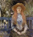 On a Bench by Berthe Morisot 1889