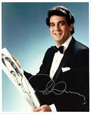 PLACIDO DOMINGO-Autograph