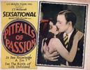Pitfalls of Passion 1927