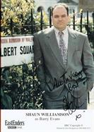 SHAUN WILLIAMSON Autograph