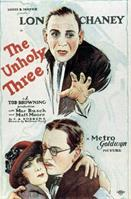 Unholy Three The 1925 movie poster