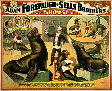 Vintage-Circus-Posters-Adam-Forepaugh-&-Sells-Brothers-great-shows-consolidated
