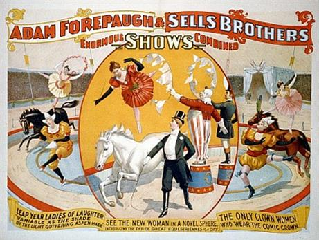Vintage-Circus-Posters-Adam-Forepaugh-and-Sells-Brothers-enormous-shows-combined