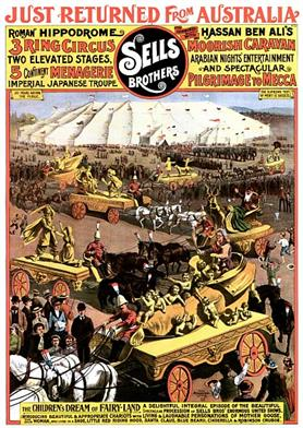 Vintage-Circus-Posters-Arabian-Nights'-Entertainment-And-Spectacular