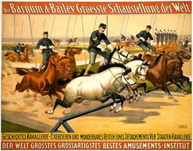Vintage-Circus-Posters-Barnum-and-Bailey-Circus-Poster-German