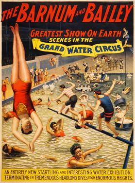 Vintage-Circus-Posters-Barnum-and-Bailey-Grand-Water-Circus