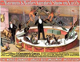 Vintage-Circus-Posters-Barnum-and-Bailey-Greatest-Show-On-Earth