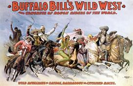 Vintage-Circus-Posters-Buffalo-Bill's-Wild-West-and-Congress-of-Rough-Riders-of-the