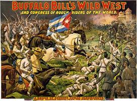 Vintage-Circus-Posters-Buffalo-Bill's-wild-west-and-congress-of-rough-riders-of-(3)