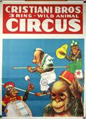 Vintage-Circus-Posters-Cristiani-Bros.