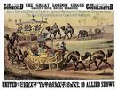 Vintage-Circus-Posters-Great-London-Circus-Camels-On-Parade