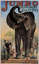 Vintage-Circus-Posters-Jumbo-The-Giant-Elephant