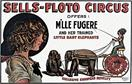Vintage-Circus-Posters-M'lle-Fugere-and-her-Trained-Little-Baby-Elephants