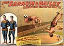 Vintage-Circus-Posters-The-Astounding-Clarkonians