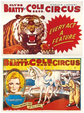 Vintage-Circus-Posters-beatty-cole-2